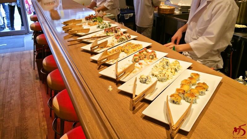 カリフォルニアロール&握り寿司も食べ放題のニューカマー