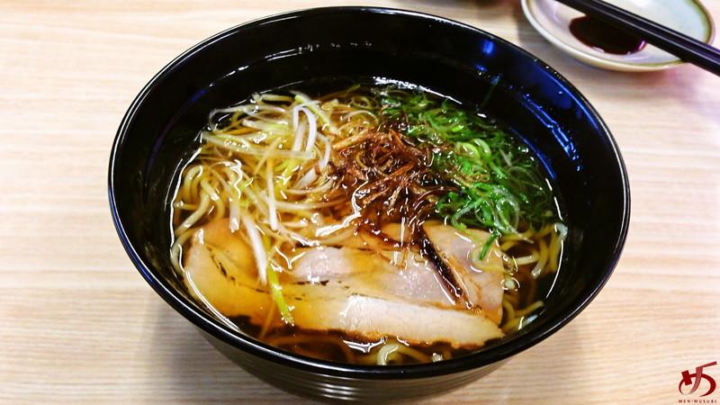 参考 出汁入り鶏がら醤油ラーメン@スシロー 2014年4月 (2)