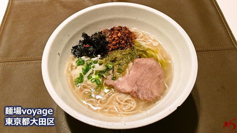 生ホタテ&キノコが生み出す香りと旨味!オリジナリティ溢れる潮麺