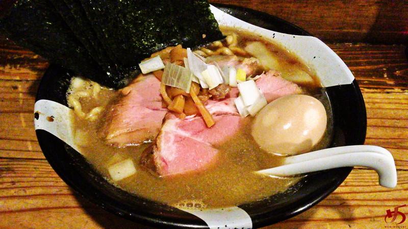 参考 ラーメン凪 新宿ゴールデン街店 特製煮干ラーメン