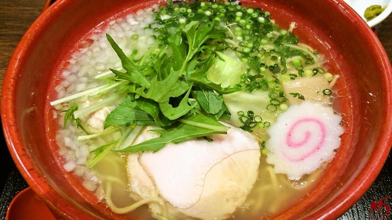 博多鶏ソバ 華味鳥 (2)