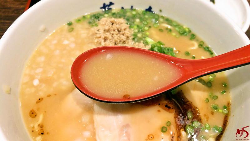 博多鶏ソバ 華味鳥 (3)