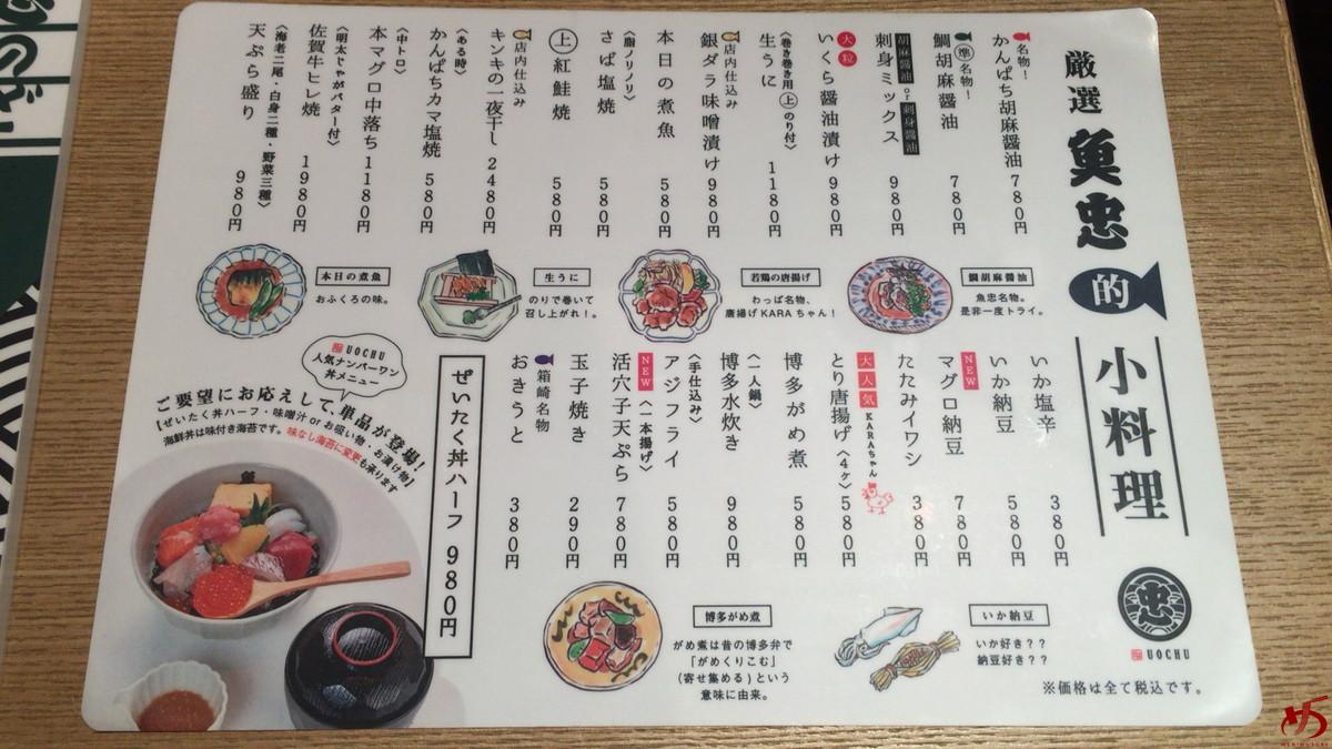 田中田式 海鮮食堂 魚忠 (2)