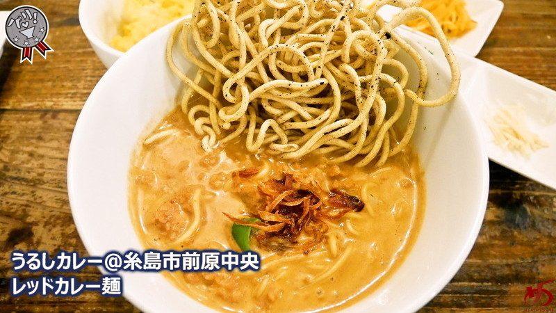 【うるしカレー@糸島市前原中央】 カレーの名店で味わう、夜限定2種の麺メニュー♪